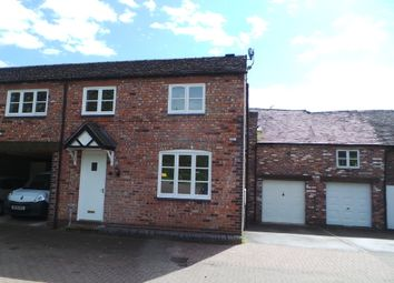 Thumbnail 2 bed mews house for sale in Quarry Bank Road, Keele, Newcastle-Under-Lyme