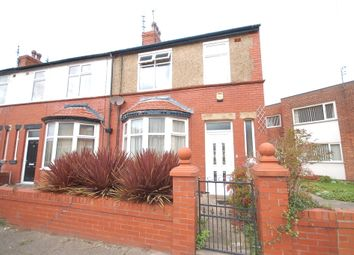 Thumbnail 4 bed end terrace house for sale in Silverwood Avenue, Blackpool