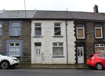 Thumbnail 3 bed terraced house to rent in Dumfries Street, Treherbert