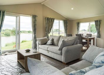 Thumbnail 2 bed mobile/park home for sale in Hallcroft Fishery, Retford