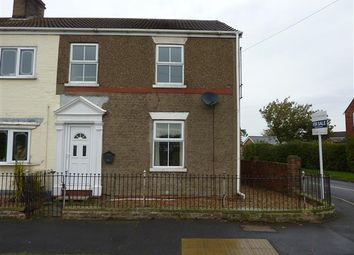 Thumbnail 3 bed end terrace house for sale in Yarborough Road, Keelby, Grimsby
