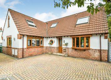 Thumbnail 3 bed detached house for sale in Malmesbury Road, Langley Burrell, Chippenham