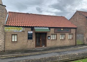 Thumbnail Leisure/hospitality for sale in Jubilee Club, Queen Street, Winterton, Scunthorpe, North Lincolnshire