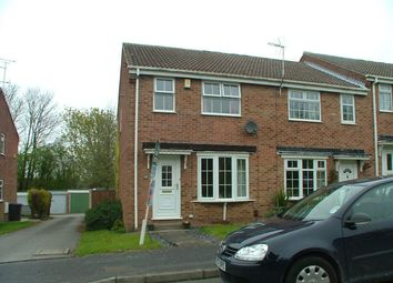Thumbnail 3 bed semi-detached house to rent in Alder Close, Oakwood, Derby