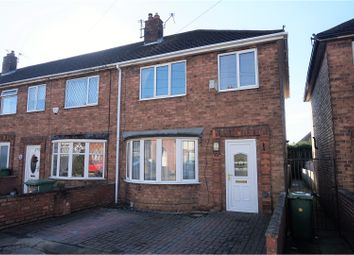 Thumbnail 3 bed end terrace house for sale in Felstead Road, Grimsby