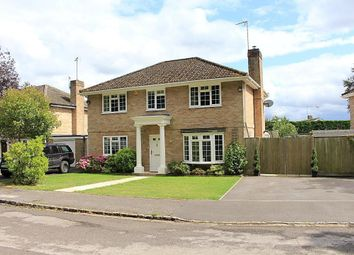 Thumbnail 4 bed detached house for sale in Hocketts Close, Whitchurch Hill, Reading