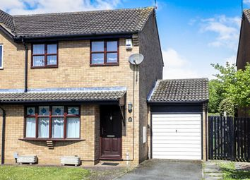 Thumbnail 3 bed semi-detached house for sale in Ringwood, Bretton, Peterborough
