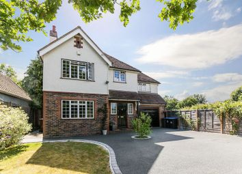 Thumbnail 4 bedroom detached house for sale in Crowhurst Road, Lingfield