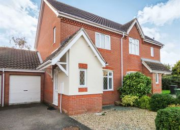 Thumbnail 2 bedroom semi-detached house for sale in Landcliffe Close, St. Ives, Huntingdon