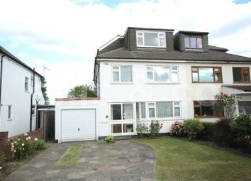 Thumbnail 4 bed semi-detached house for sale in Bittacy Rise, Mill Hill, London