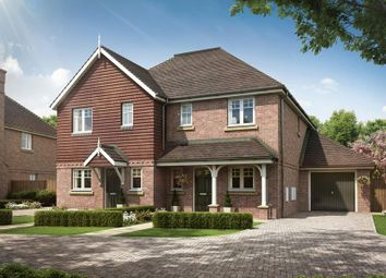 Thumbnail 4 bed semi-detached house for sale in Walnut Grove, Crawley Down Road, Felbridge, West Sussex