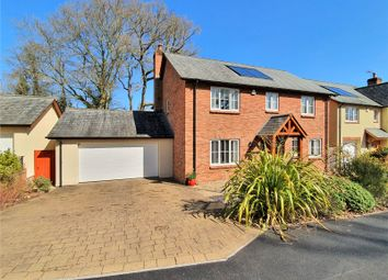 Thumbnail 4 bed detached house for sale in Aubyns Wood Avenue, Tiverton, Devon