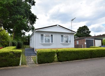 Thumbnail 2 bed detached bungalow for sale in Woodlands Way, Shepherds Grove Park, Stanton, Bury St. Edmunds