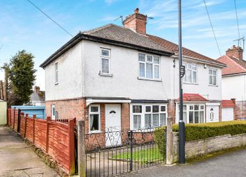 Thumbnail 3 bed semi-detached house for sale in Walton Drive, Sunnyhill, Derby, Derbyshire