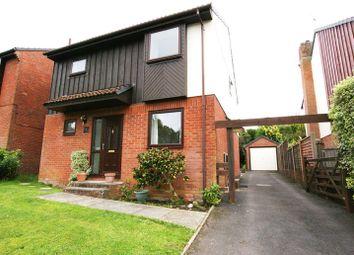 Thumbnail 3 bed detached house for sale in Hillside Road, Corfe Mullen, Wimborne