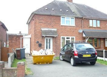 Thumbnail 2 bedroom semi-detached house for sale in Barnard Road, Ashmore Park, Wednesfield