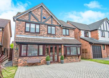Thumbnail 4 bed detached house for sale in Durlston Close, Amington, Tamworth