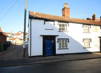 Thumbnail 1 bed semi-detached house for sale in Connaught Road, Attleborough