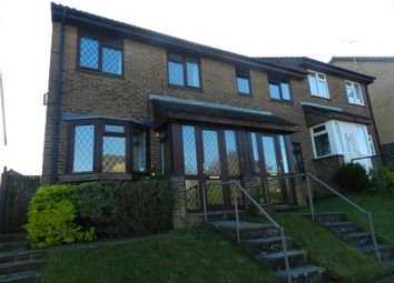 Thumbnail 3 bed terraced house to rent in Hollingbourne Crescent, Crawley