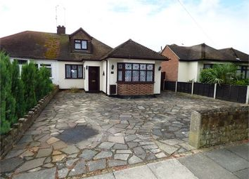 Thumbnail 4 bed semi-detached bungalow for sale in Poynings Avenue, Southend On Sea, Southend On Sea