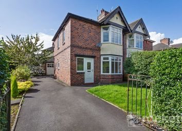Thumbnail 3 bed semi-detached house to rent in Basford Park Road, Basford, Newcastle Under Lyme