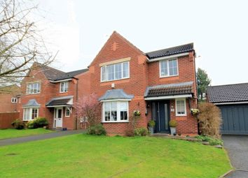 Thumbnail 4 bed detached house for sale in Dixon Close, Stone
