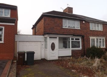 Thumbnail 2 bed property to rent in Wynchcombe Avenue, Penn, Wolverhampton