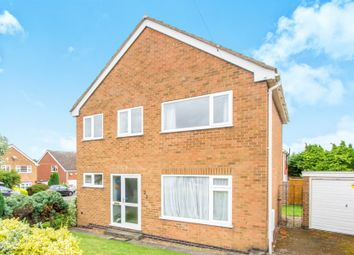 Thumbnail 3 bed link-detached house for sale in Prince Drive, Oadby, Leicester