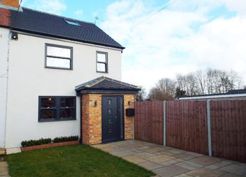 Thumbnail 1 bed semi-detached house for sale in Bedford Road, Brafield-On-The-Green, Northamptonshire