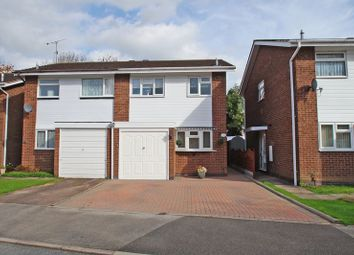 Thumbnail 3 bed semi-detached house for sale in Donnington Close, Redditch