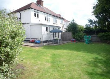 Thumbnail 3 bed semi-detached house to rent in Church Close, Edgware