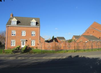 Thumbnail 4 bed detached house for sale in Hevea Road, Stretton, Burton-On-Trent