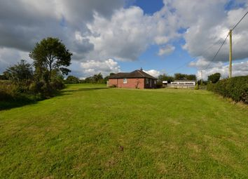 Thumbnail 3 bed detached bungalow for sale in Wood Lane, Hinstock, Market Drayton