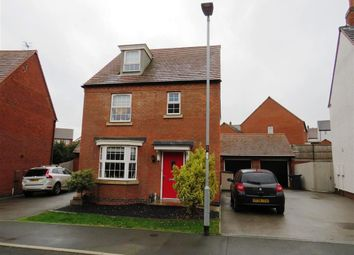 Thumbnail 4 bed detached house to rent in Bentley Road, Castle Donington, Derby