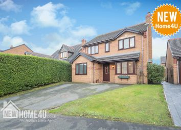 Thumbnail 4 bed detached house for sale in Brickbarn Close, Buckley