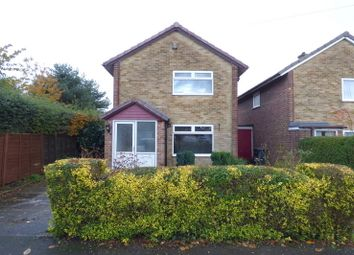 Thumbnail 3 bed detached house to rent in Brunswood Close, Spondon, Derby