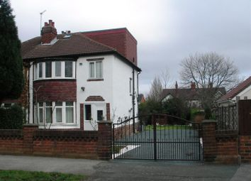 Thumbnail 4 bed semi-detached house to rent in Fearnville Avenue, Leeds