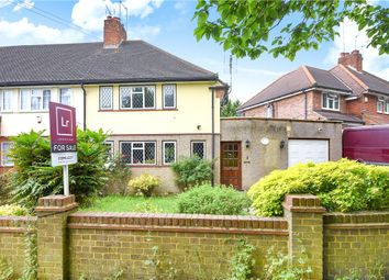 Thumbnail 3 bed end terrace house for sale in Broadwater Lane, Harefield, Uxbridge, Middlesex