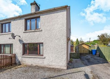 Thumbnail 2 bedroom semi-detached house for sale in Mill Street, Dingwall