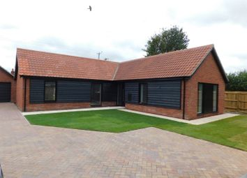 Thumbnail 3 bed detached bungalow for sale in Church Road, Bacton, Stowmarket