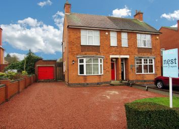 Thumbnail 3 bedroom semi-detached house for sale in Cambridge Road, Cosby, Leicester