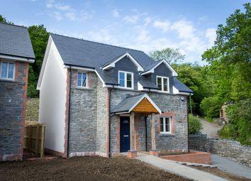 Thumbnail 4 bed detached house for sale in Crib Y Lan, Main Road, Gwaelod-Y-Garth