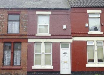 Thumbnail 2 bedroom terraced house for sale in Corporation Road, Birkenhead