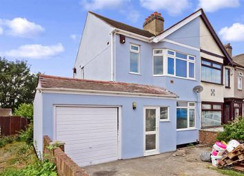 Thumbnail 3 bed semi-detached house for sale in Waverley Road, Rainham, Essex