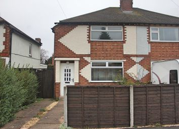 Thumbnail 3 bedroom semi-detached house for sale in Kingston Avenue, Wigston, Leicester