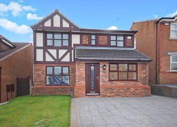 Thumbnail 4 bedroom detached house for sale in Heyworth Avenue, Blackburn