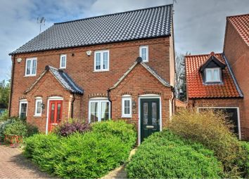 Thumbnail 2 bed semi-detached house for sale in Stable Field Way, Hemsby