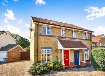Thumbnail 2 bed semi-detached house for sale in Barleyfield Road, Horsford, Norwich