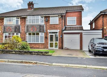 Thumbnail 4 bed semi-detached house for sale in Westwood Road, Heald Green, Cheadle