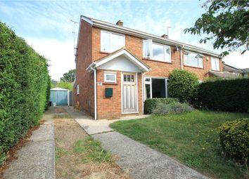 Thumbnail 3 bed semi-detached house for sale in Turfhouse Lane, Chobham, Woking, Surrey